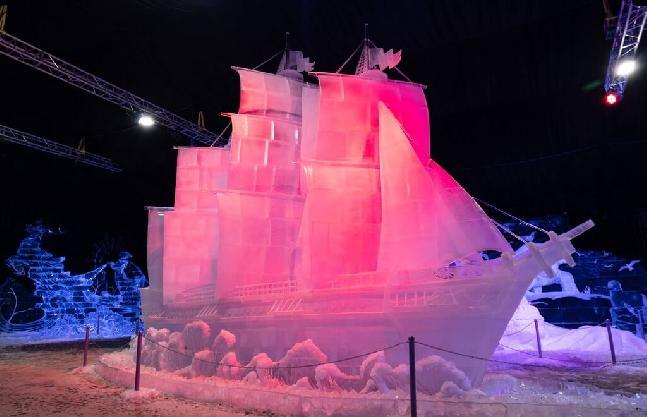Ice Sculpture Festival In The Peter And Paul Fortress Until February 3, 2019